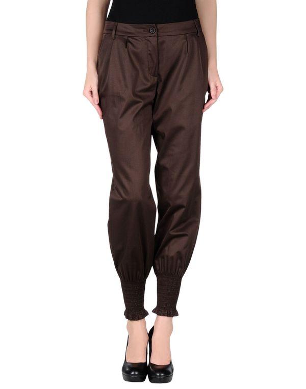 深棕色 SCERVINO STREET 裤装
