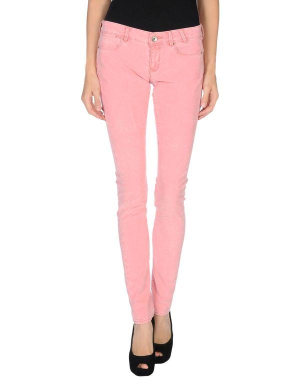 粉红色 GUESS 裤装