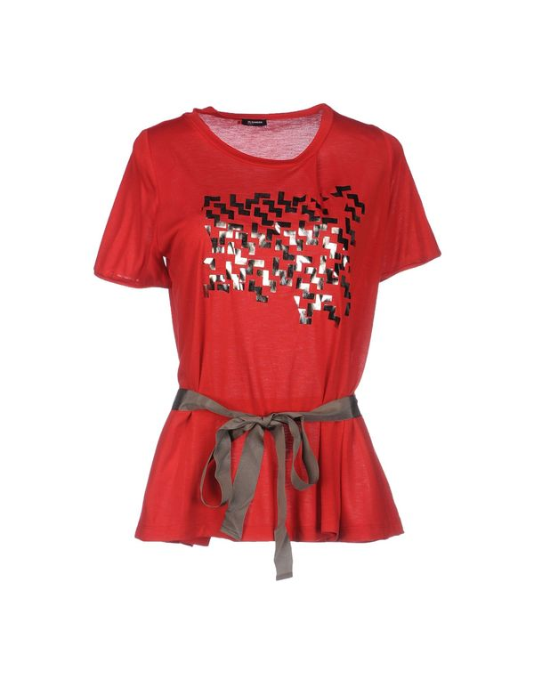 红色 JIL SANDER NAVY T-shirt
