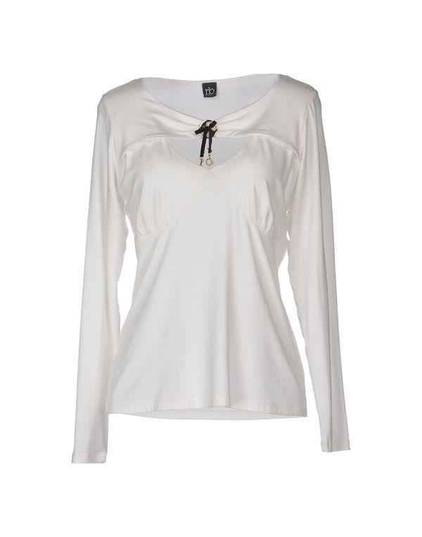 白色 ROCCOBAROCCO T-shirt
