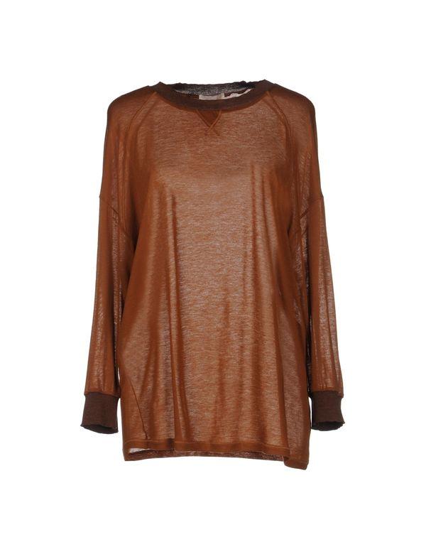 棕色 MAURO GRIFONI T-shirt