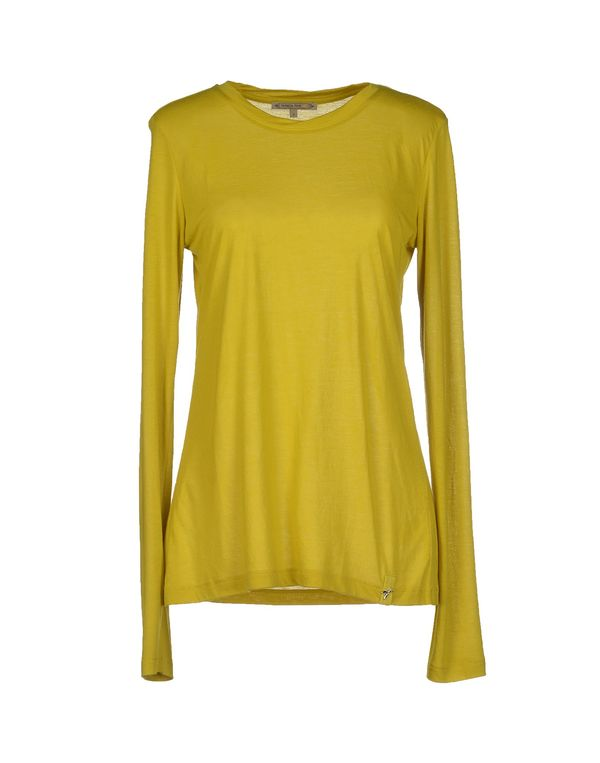 荧光绿 PATRIZIA PEPE T-shirt