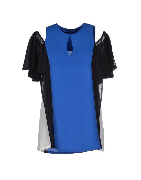 蓝色 ANNARITA N. 女士衬衫