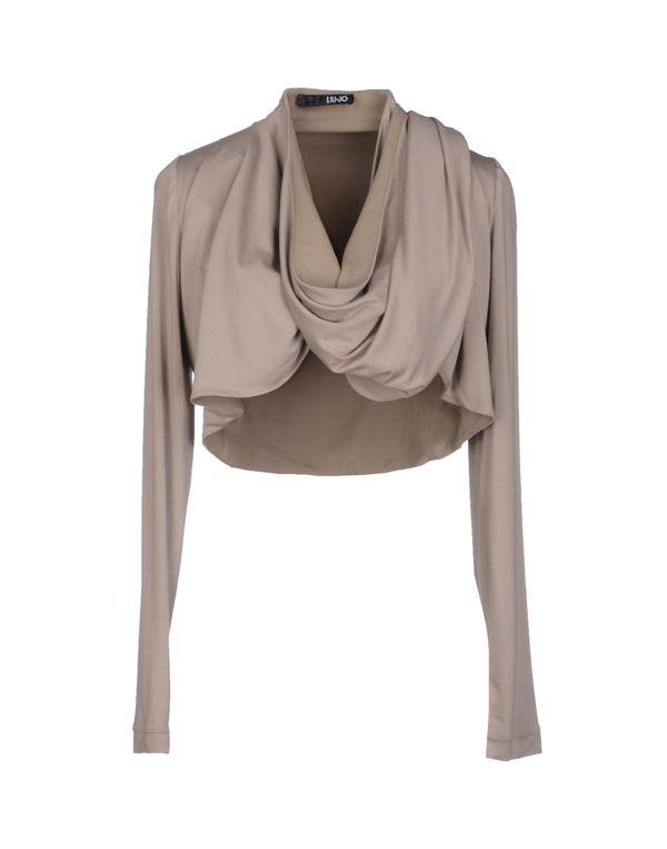 灰色 LIU •JO 短套衫
