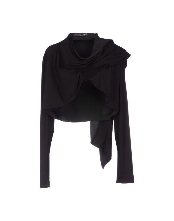 黑色 LIU •JO 短套衫