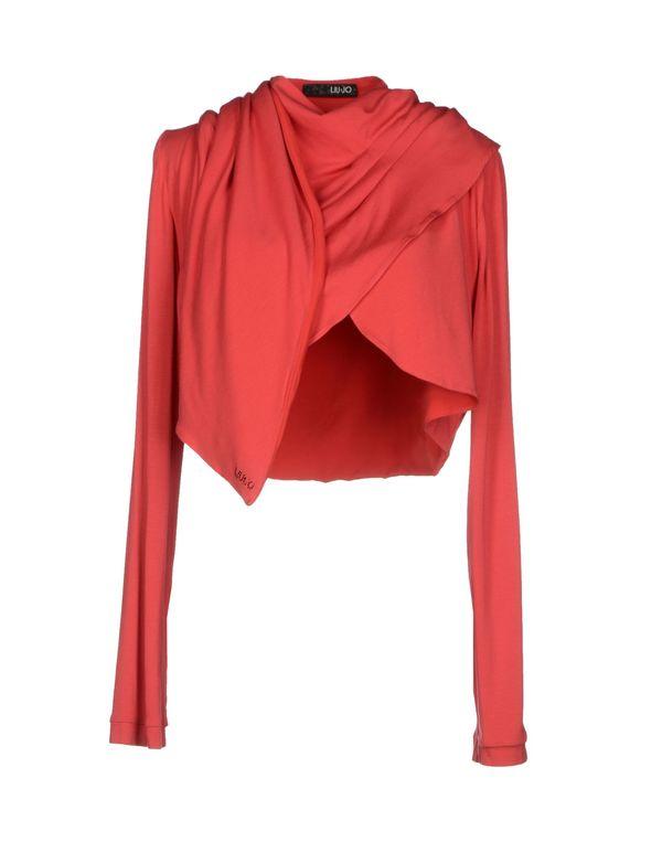 珊瑚红 LIU •JO 短套衫