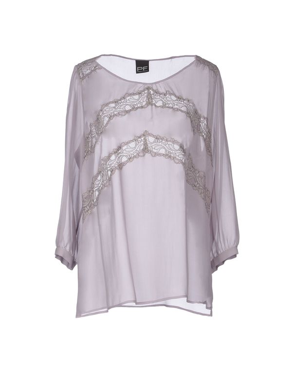 丁香紫 PF PAOLA FRANI 女士衬衫