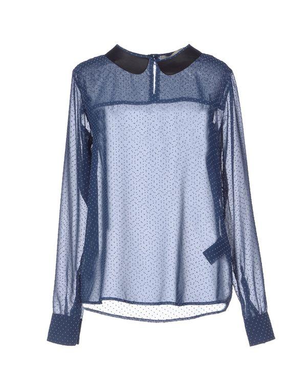 蓝色 M.GRIFONI DENIM 女士衬衫