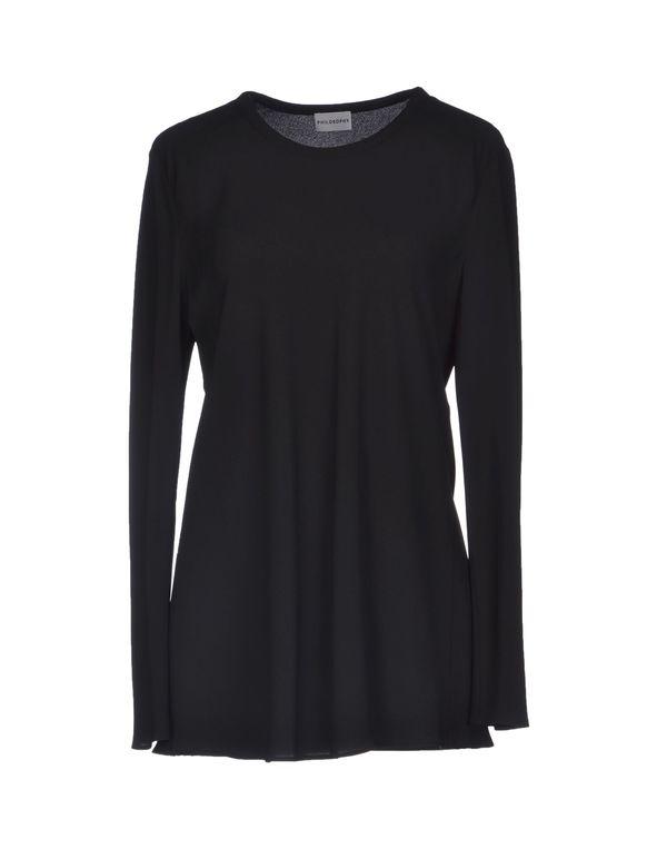 黑色 PHILOSOPHY DI A. F. 女士衬衫