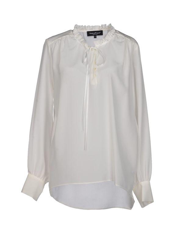 白色 ADELE FADO 女士衬衫