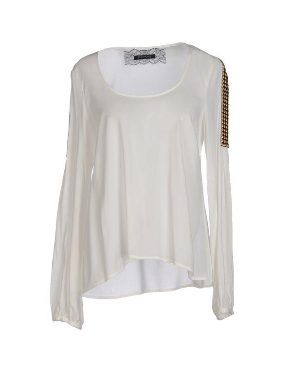 白色 PATRIZIA PEPE SERA 女士衬衫
