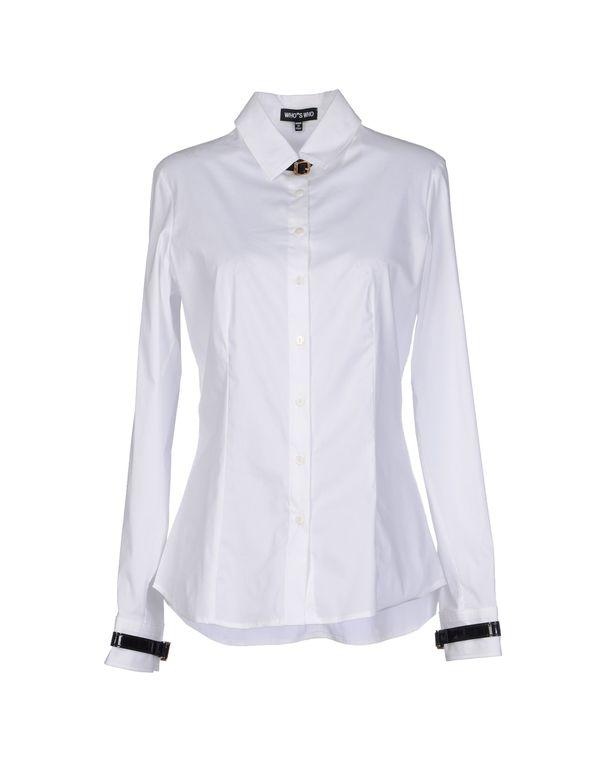 白色 WHO*S WHO Shirt