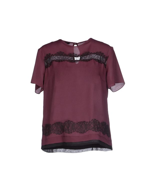 波尔多红 HANITA 女士衬衫