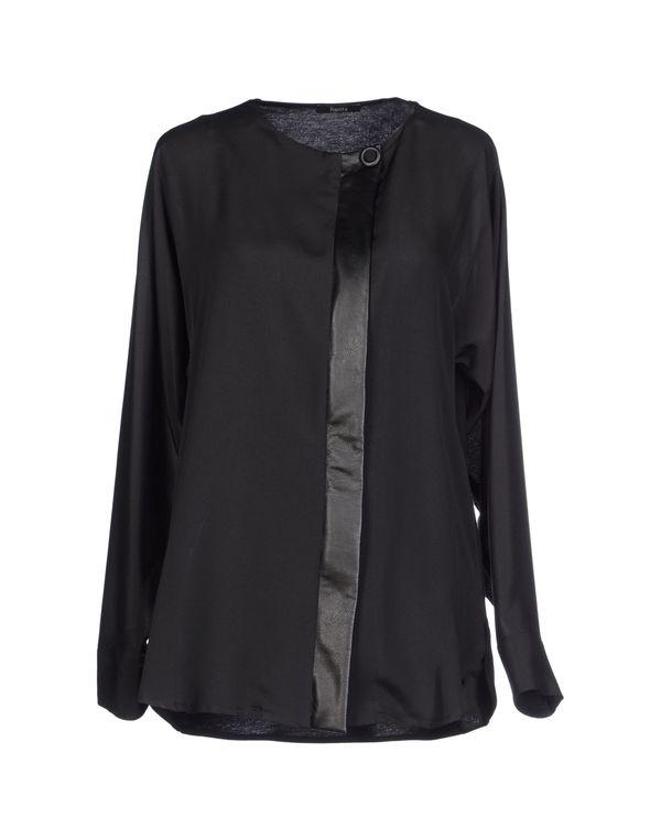 黑色 HANITA Shirt