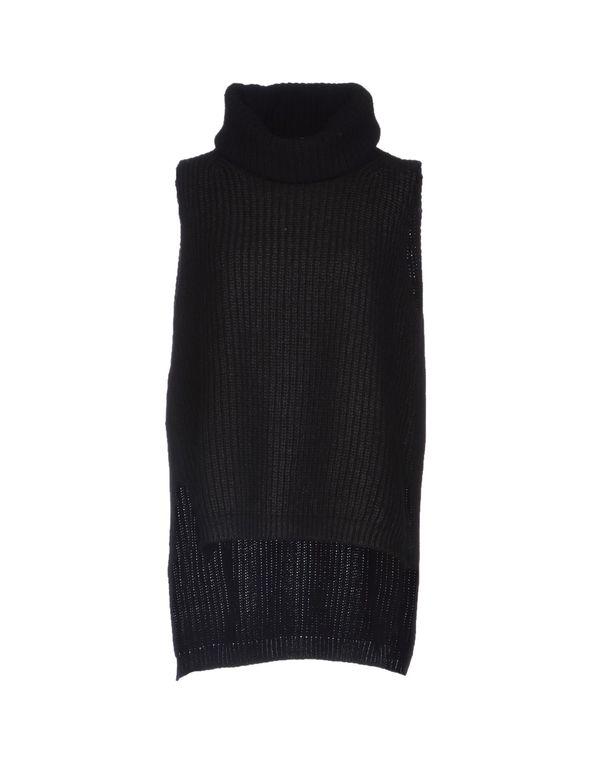 黑色 PINKO BLACK 圆领针织衫