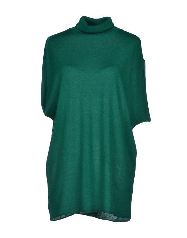 绿色 P.A.R.O.S.H. 圆领针织衫