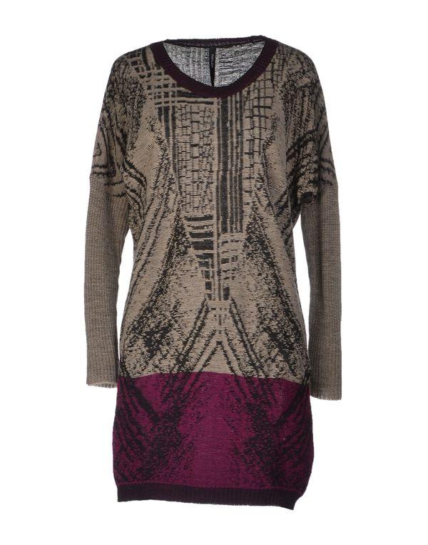 浅紫色 PIANURASTUDIO 短款连衣裙