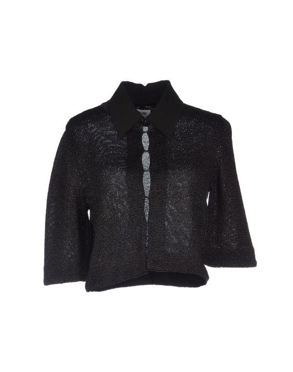 黑色 MOSCHINO 针织开衫