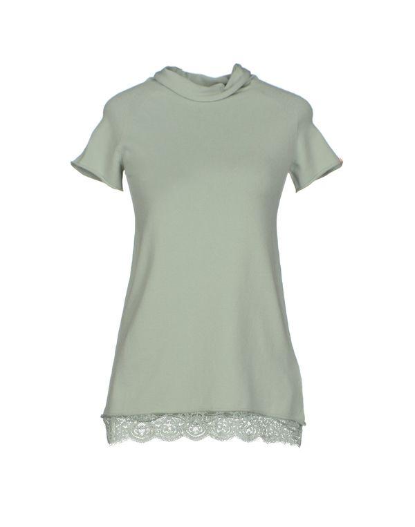 浅绿色 TWIN-SET JEANS 圆领针织衫
