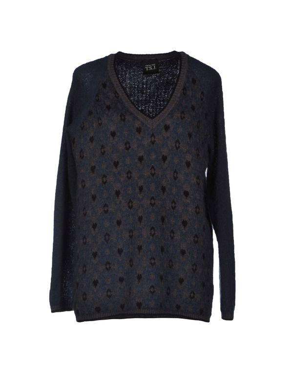 石青色 TWIN-SET JEANS 套衫