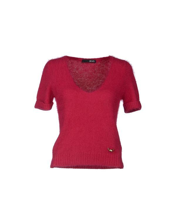 玫红色 LIU •JO 套衫
