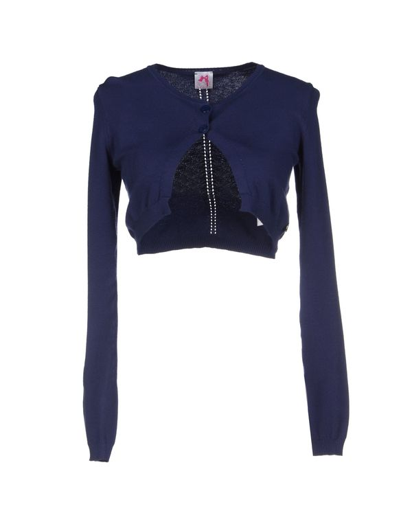 蓝色 SCEE BY TWIN-SET 短套衫