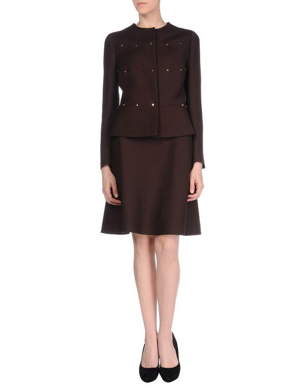 深紫 VALENTINO 女士西装套装