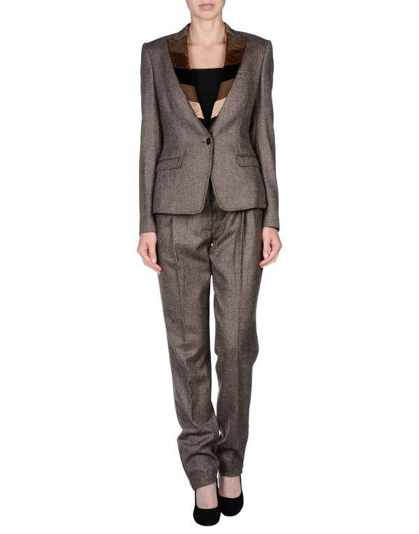 深棕色 DOLCE & GABBANA 女士西装套装