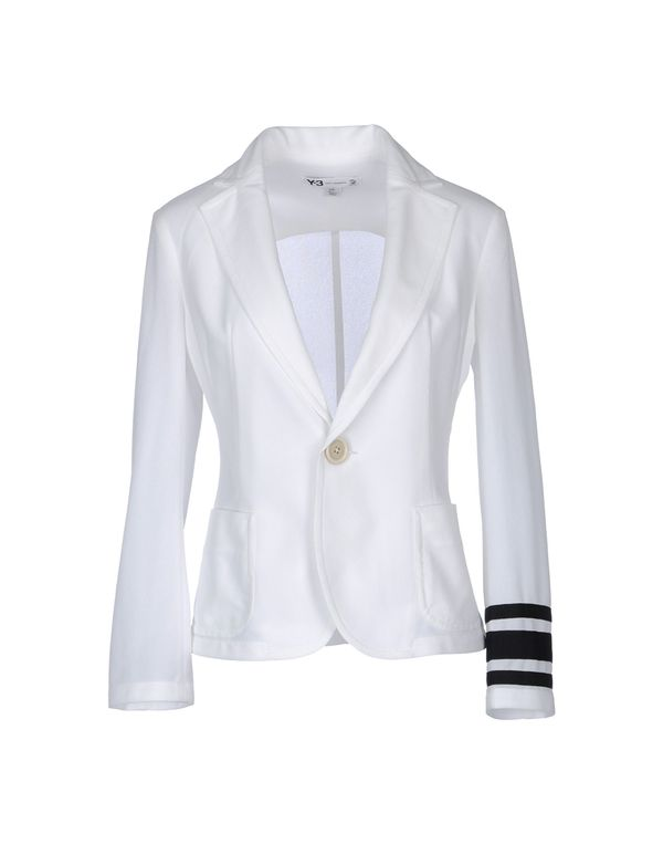 白色 Y-3 西装上衣