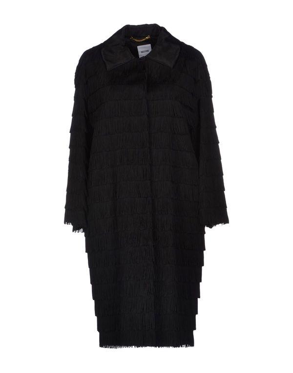 黑色 MOSCHINO 大衣