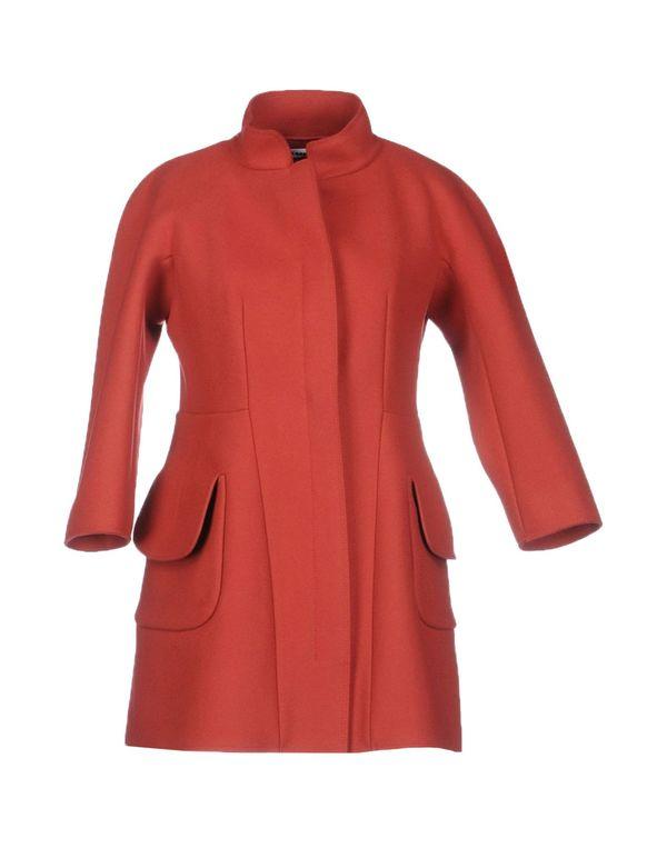 红色 JIL SANDER 大衣