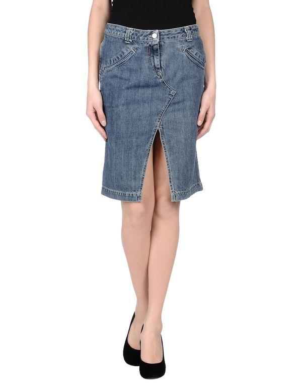 蓝色 MISS SIXTY 牛仔半裙