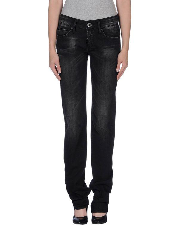 黑色 PIANURASTUDIO 牛仔裤