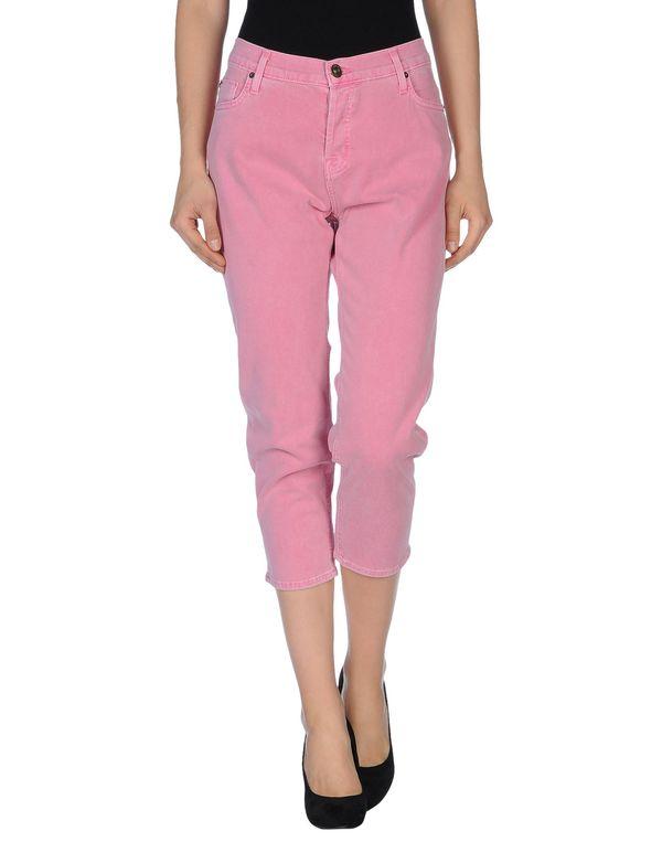 浅紫色 HUDSON 七分裤