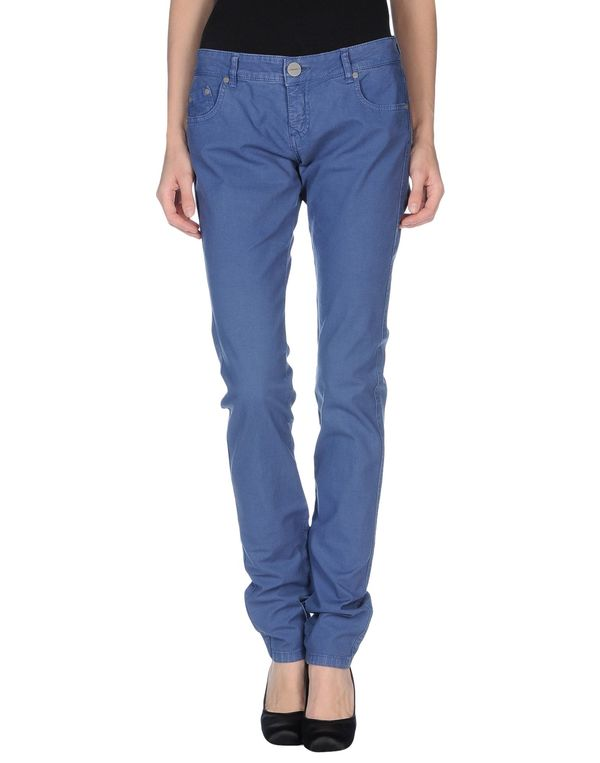 粉蓝色 PINKO 牛仔裤