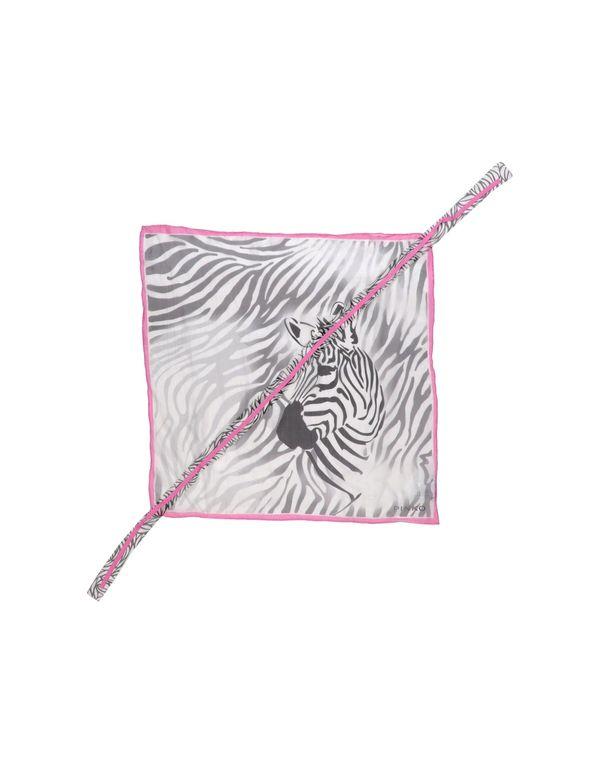 淡灰色 PINKO 方巾