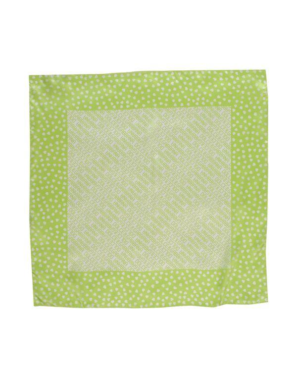 荧光绿 DOLCE & GABBANA 方巾