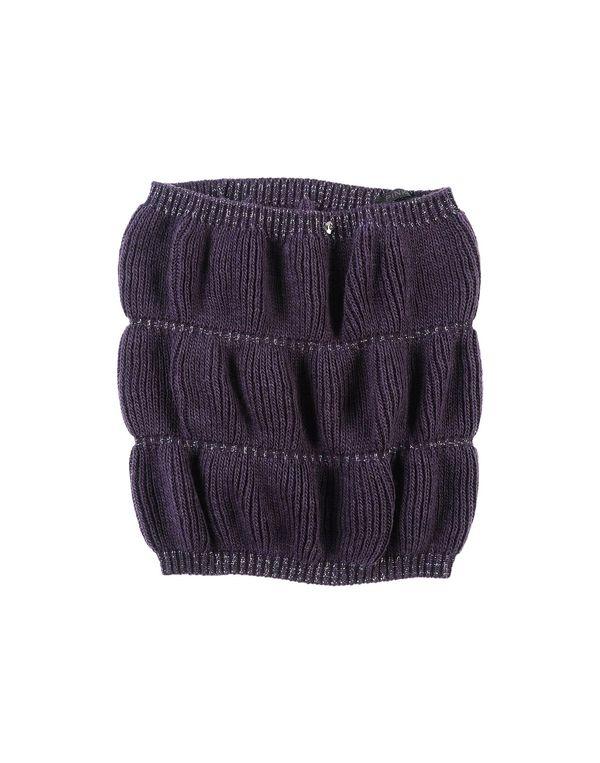 紫色 PINKO BLACK 领部装饰