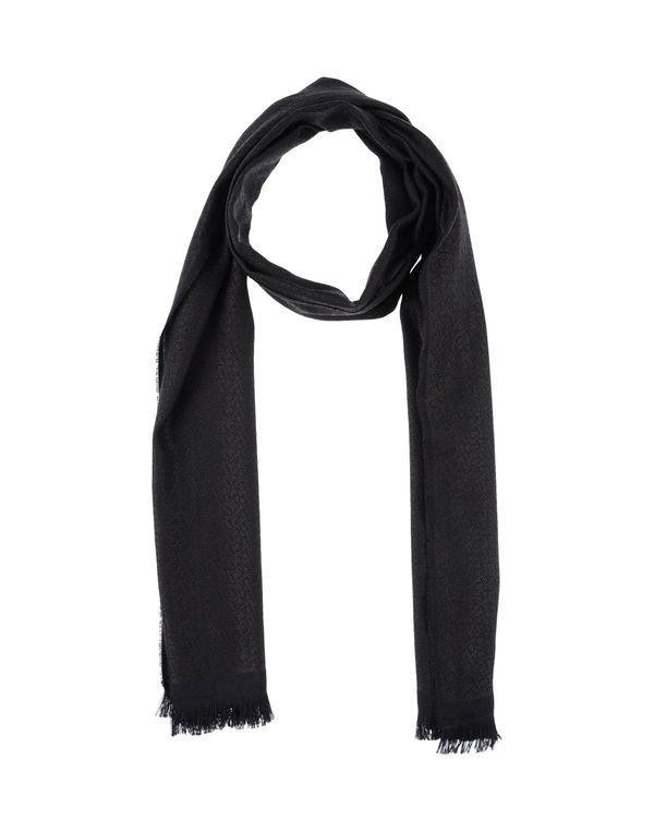 青灰色 DIOR 围巾