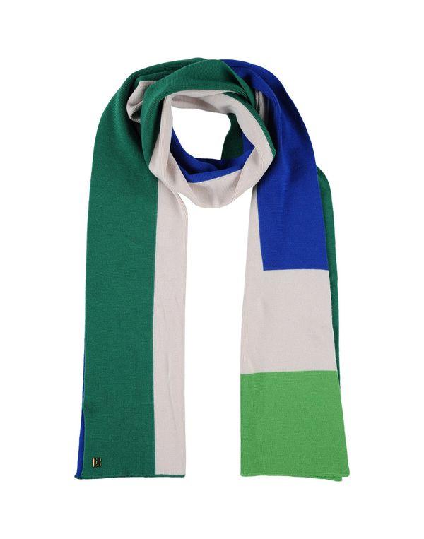 绿色 DIRK BIKKEMBERGS 围巾