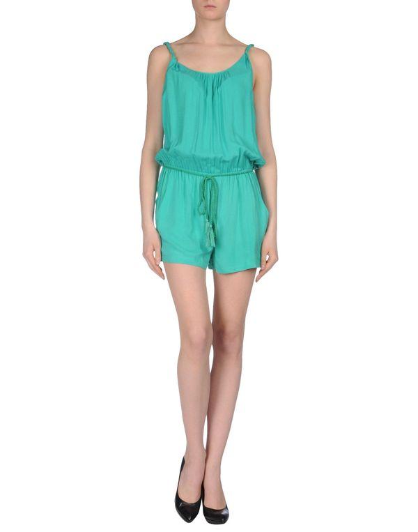 绿色 ONLY 连身短裤
