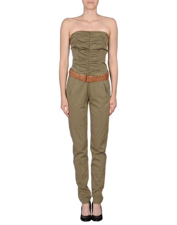 军绿色 GUESS 连身长裤