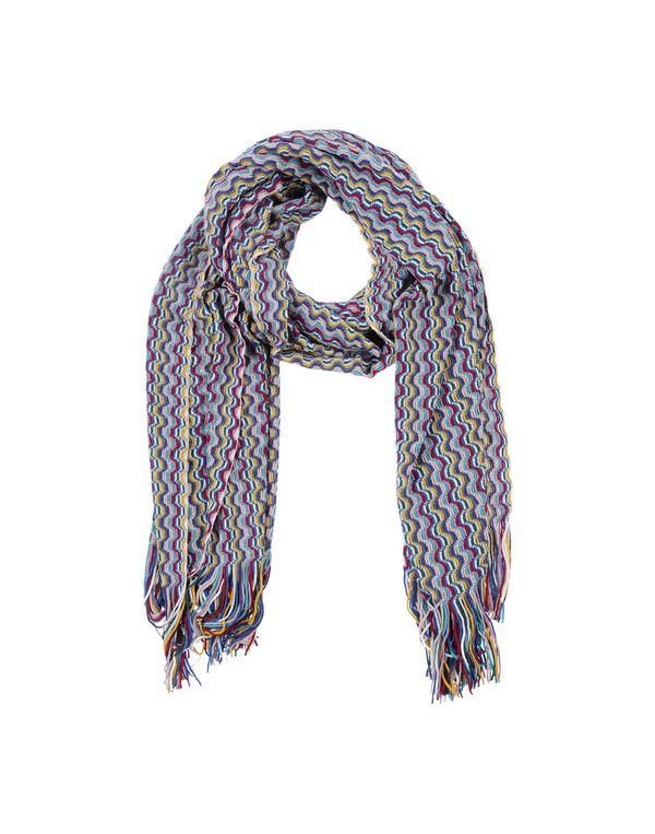 紫色 MISSONI 围巾