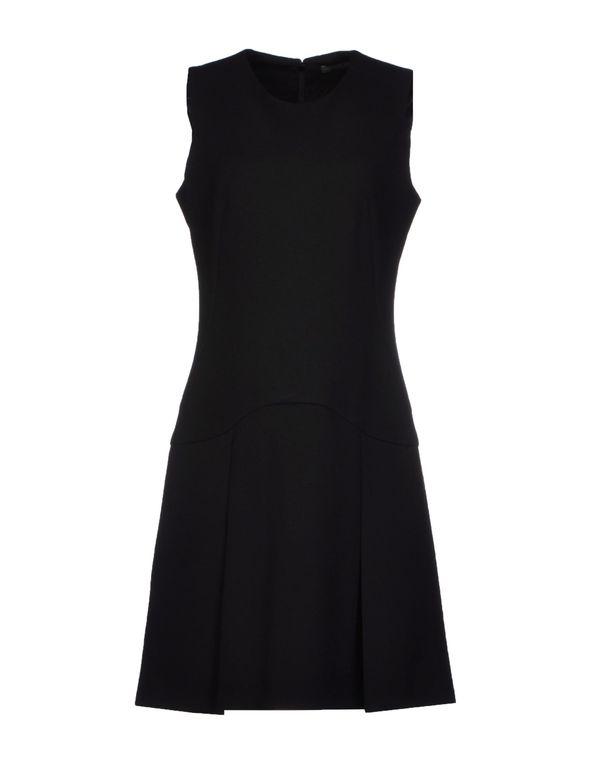黑色 ALEXANDER MCQUEEN 短款连衣裙