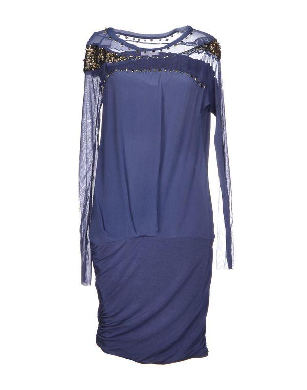 蓝色 PATRIZIA PEPE 及膝连衣裙