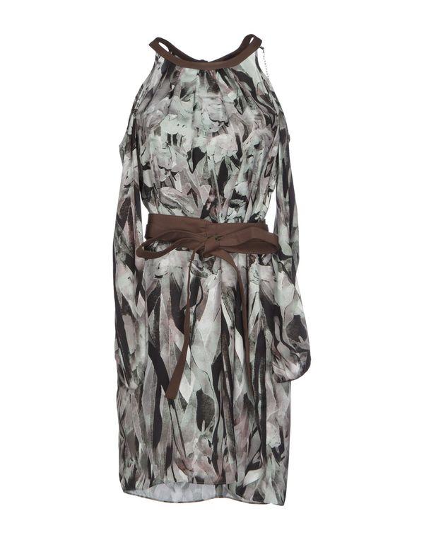 浅绿色 PATRIZIA PEPE SERA 短款连衣裙