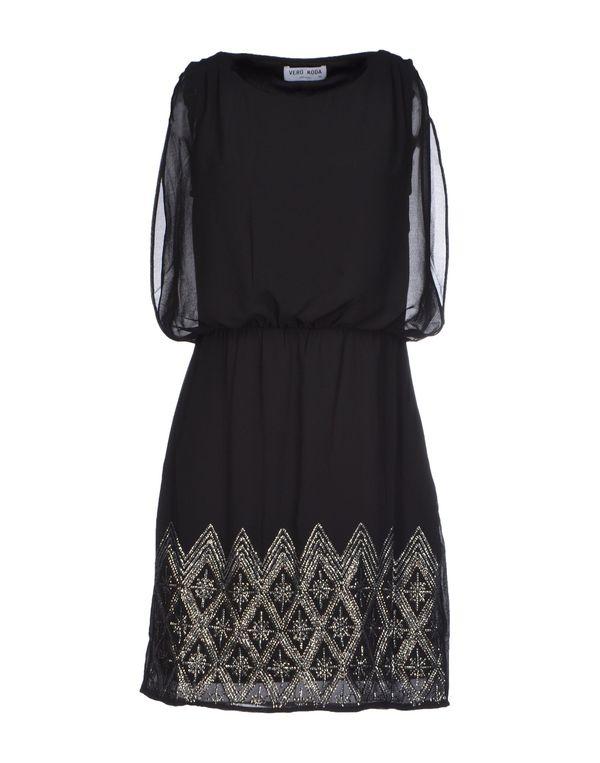黑色 VERO MODA 短款连衣裙