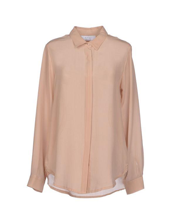 浅棕色 KAOS Shirt