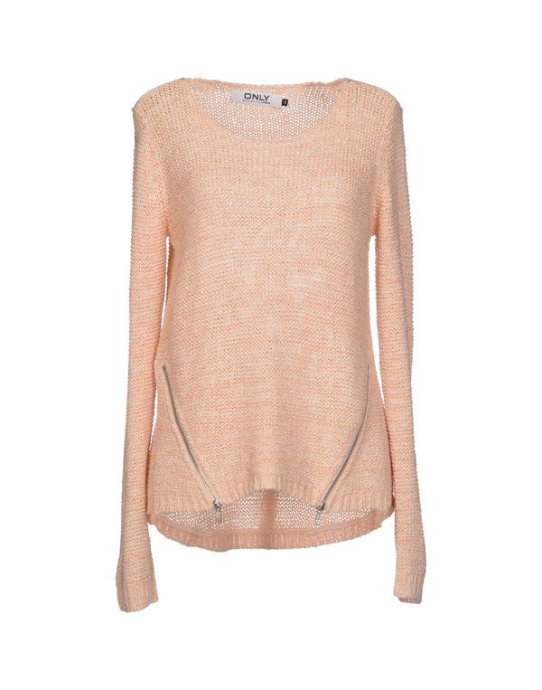 浅粉色 ONLY 套衫