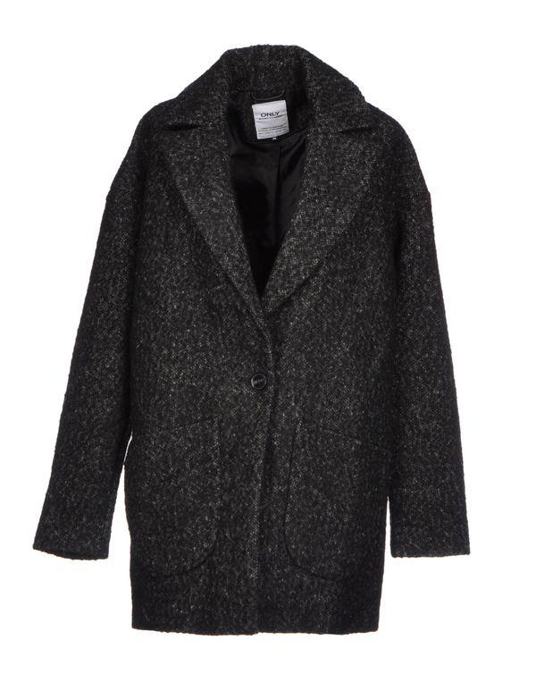黑色 ONLY 大衣